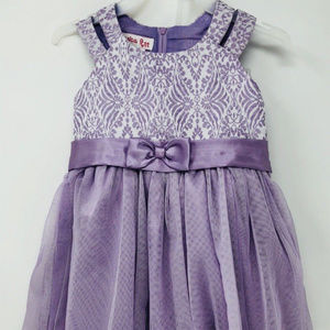 New Jessica Ann 2 Piece Party Dress Sleeveless 18M